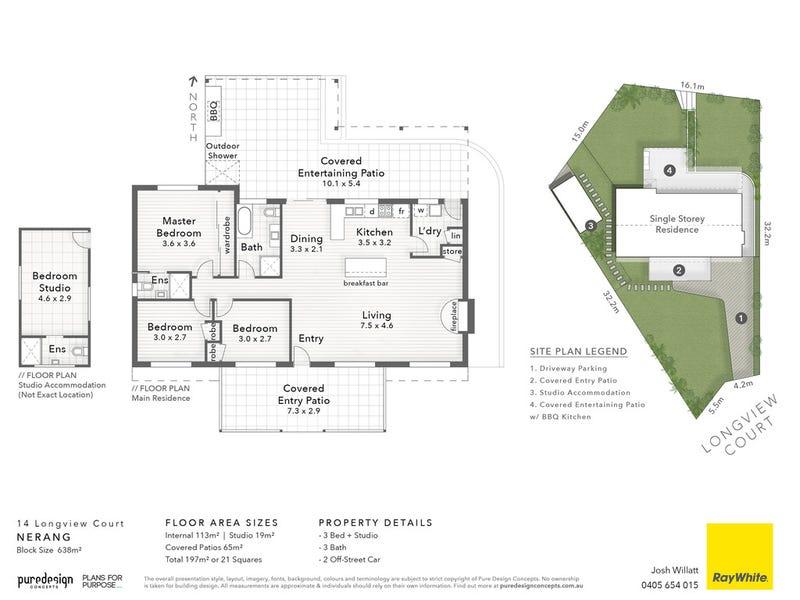 14 Longview Court, Nerang, Qld 4211 - floorplan