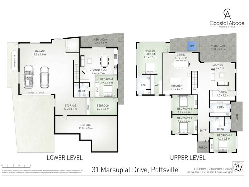 31 Marsupial Drive, Pottsville, NSW 2489 - floorplan