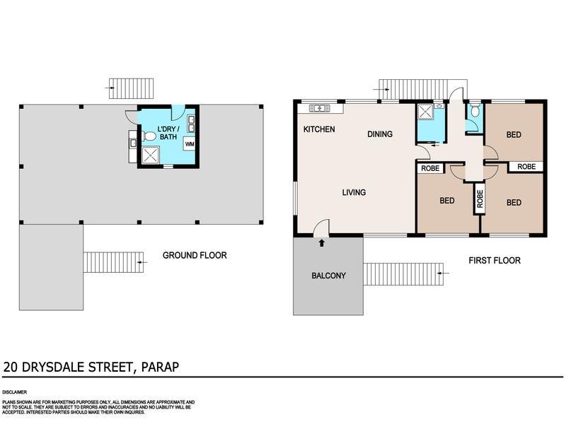 20 Drysdale Street, Parap, NT 0820 - floorplan
