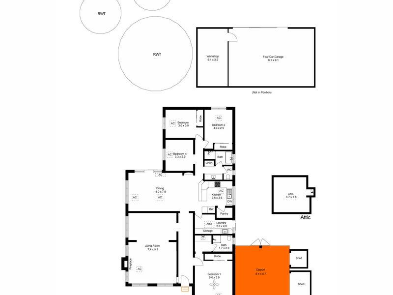 96 Colonial Drive, Norton Summit, SA 5136 - floorplan