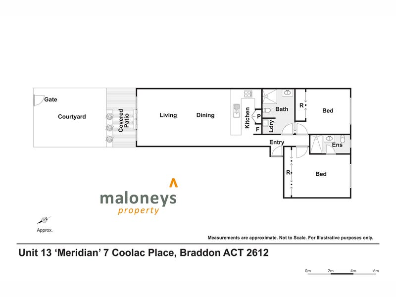 13/7 Coolac Place, Braddon, ACT 2612 - floorplan