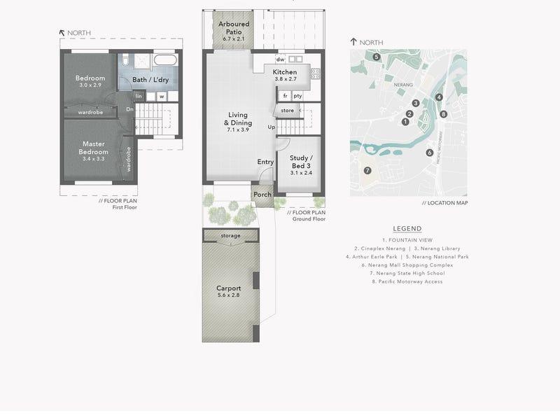 1/67 Nerang Street, Nerang, Qld 4211 - floorplan