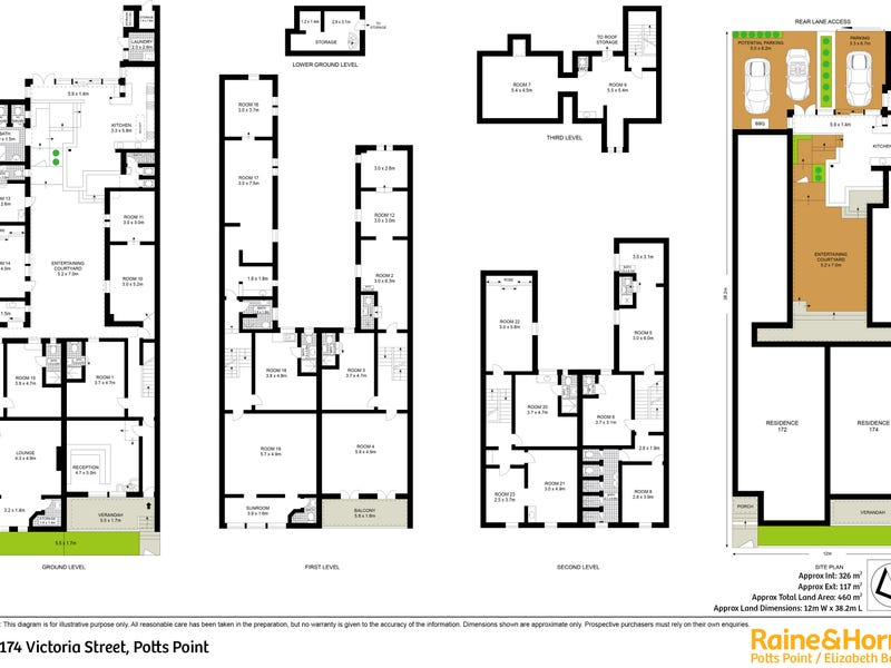 172 - 174 Victoria Street, Potts Point, NSW 2011 - floorplan