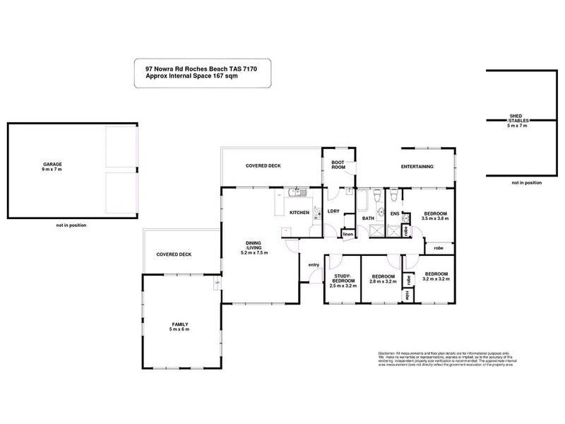 97 Nowra Road, Roches Beach, Tas 7170 - floorplan