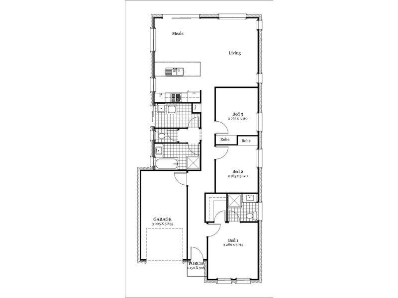 Lot 702 Hutchinson Ave, Reynella, SA 5161 - floorplan