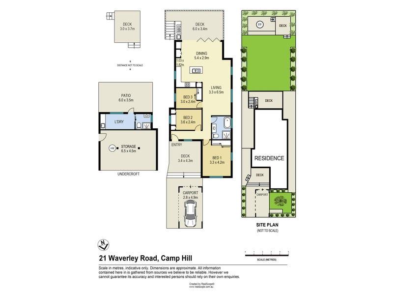 21 Waverley Road, Camp Hill, Qld 4152 - floorplan