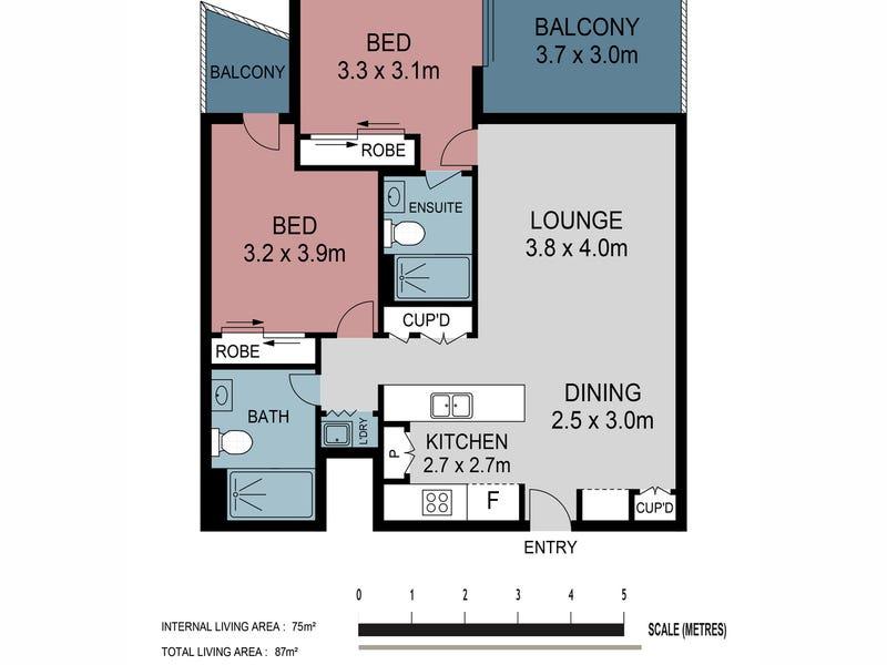 505/66 High Street, Toowong, Qld 4066 - floorplan
