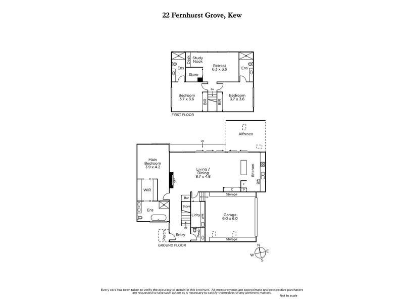 22 Fernhurst Grove, Kew, Vic 3101 - floorplan