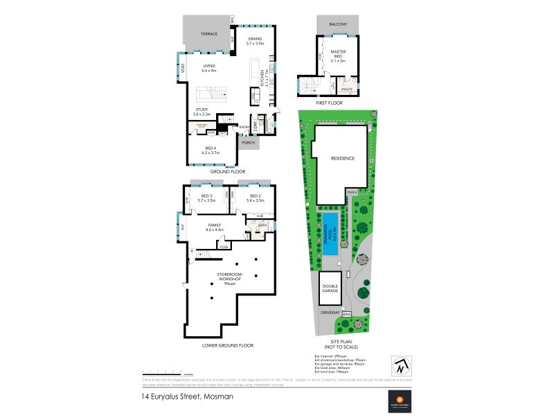 14 Euryalus Street, Mosman, NSW 2088 - floorplan