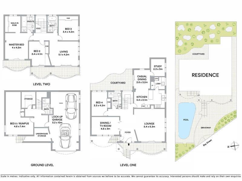 59 Bay Street, Mosman, NSW 2088 - floorplan