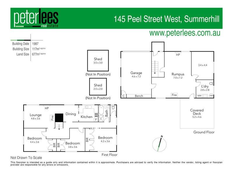 145 Peel Street, Summerhill, Tas 7250 - floorplan