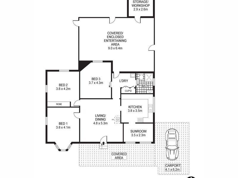 2D Walton Street, Boggabri, NSW 2382 - floorplan