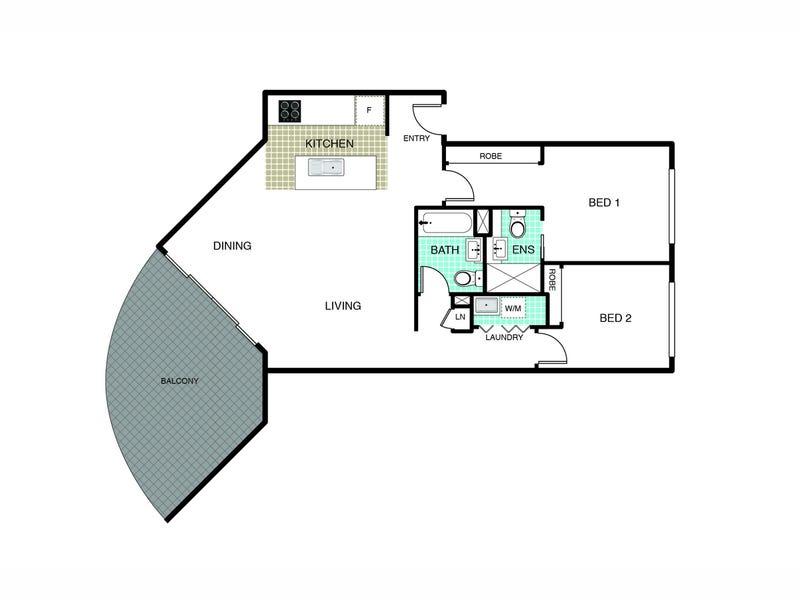 72/20 Beissel Street, Belconnen, ACT 2617 - floorplan