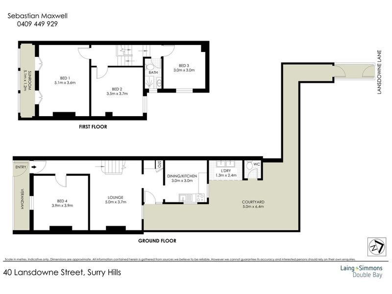 40 Lansdowne Street, Surry Hills, NSW 2010 - floorplan