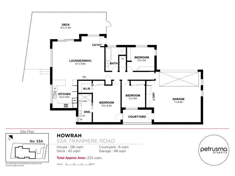 53a Tranmere Road, Howrah, Tas 7018 - floorplan