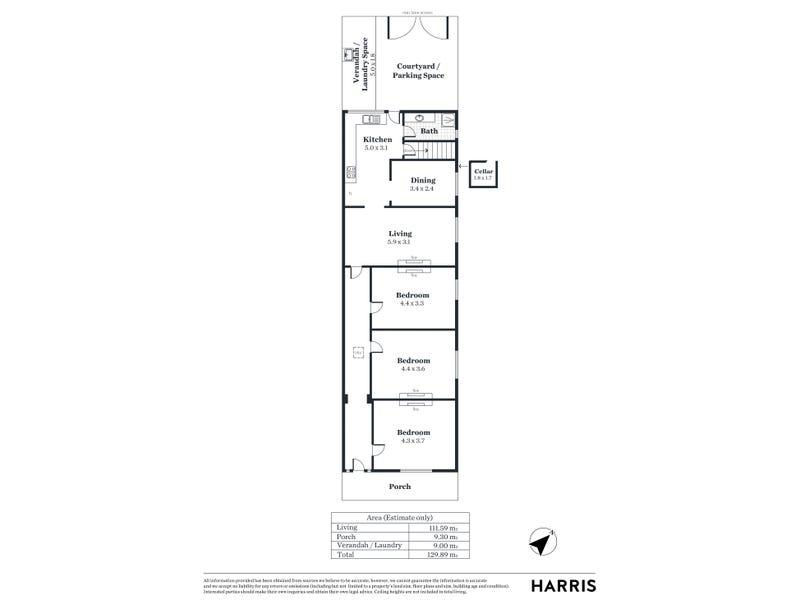 234 Halifax Street, Adelaide, SA 5000 - floorplan