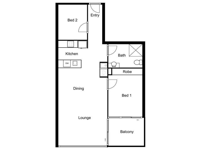 5/39 Benjamin Way, Belconnen, ACT 2617 - floorplan
