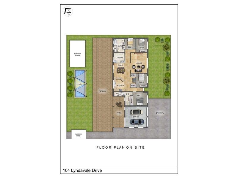 104 Lyndavale Drive, Larapinta, NT 0875 - floorplan