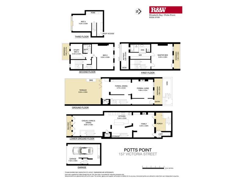 157 Victoria Street, Potts Point, NSW 2011 - floorplan