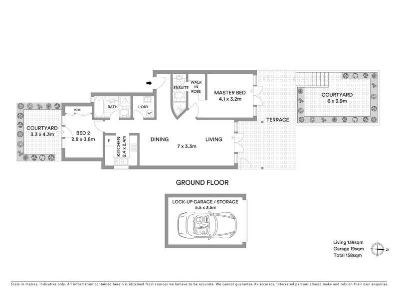 1/6 Eddy Road, Chatswood, NSW 2067 - floorplan