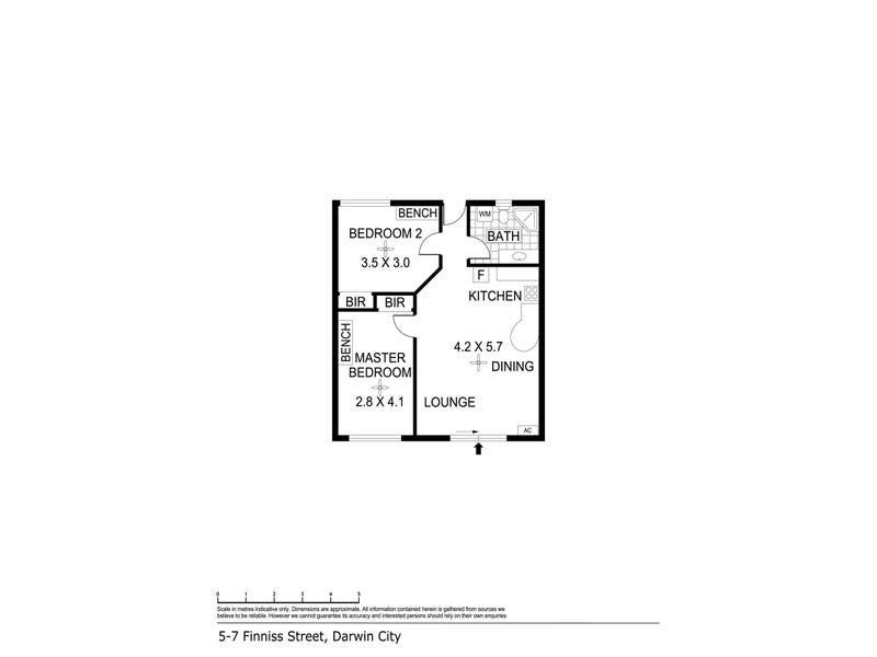 5/7 Finniss Street, Darwin City, NT 0800 - floorplan