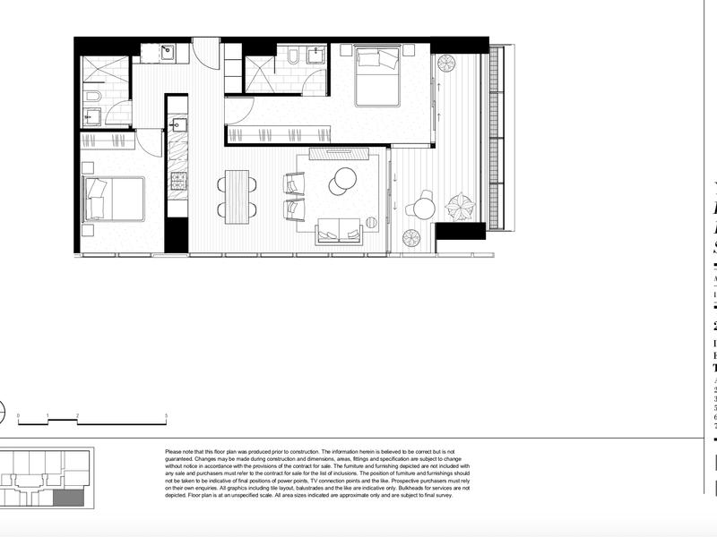 3206/115-119 Bathurst Street, Sydney, NSW 2000 - floorplan