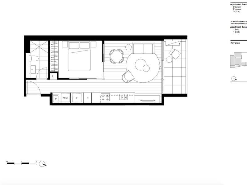 601/141 La Trobe Street, Melbourne, Vic 3000 - floorplan