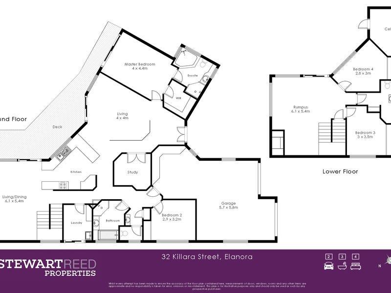 32 Killara Street, Currumbin Waters, Qld 4223 - floorplan