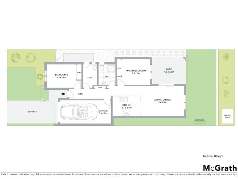 11 Nordeck Street, Casey, ACT 2913 - floorplan
