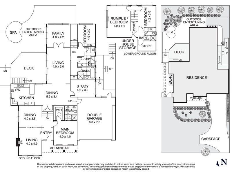 38 Porter Street, Eltham, Vic 3095 - floorplan