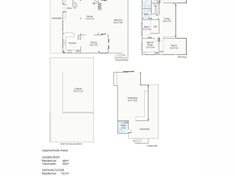12 View Terrace, Darlington, WA 6070 - floorplan