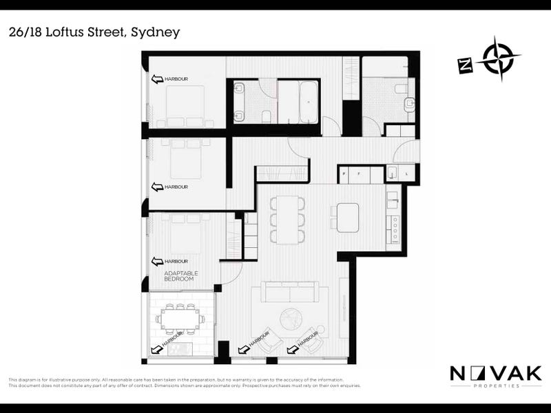 26/18 Loftus Street, Sydney, NSW 2000 - floorplan
