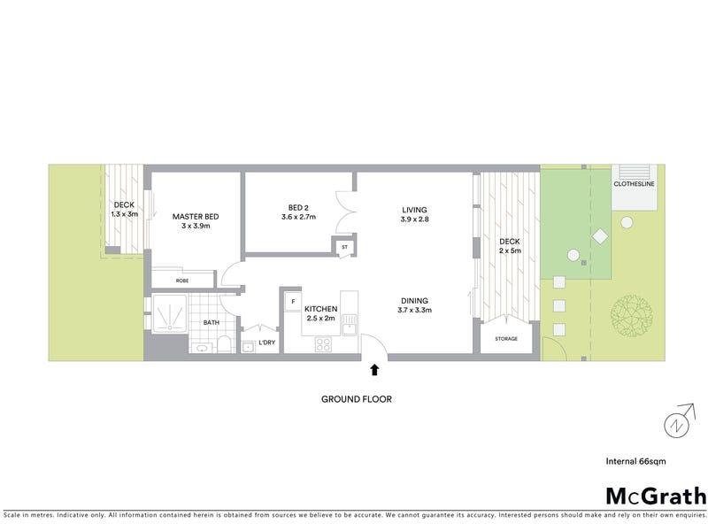 2/23 Tay Street, Watson, ACT 2602 - floorplan