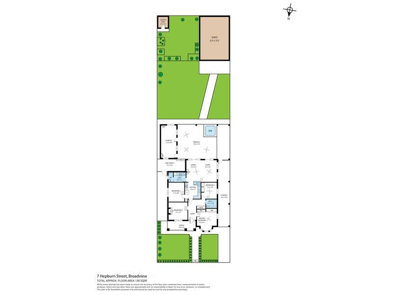 7 Hepburn Street, Broadview, SA 5083 - floorplan