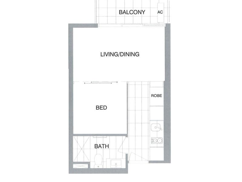 1004/618 Lonsdale Street, Melbourne, Vic 3000 - floorplan