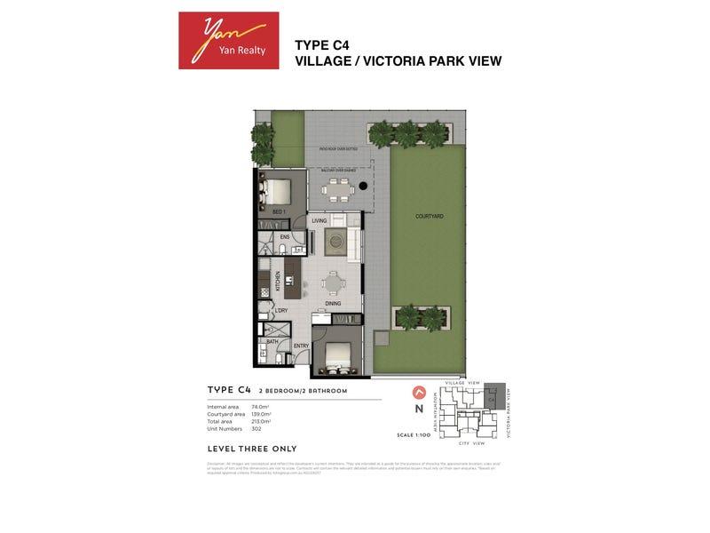 302/31 Musk Avenue, Kelvin Grove, Qld 4059 - floorplan