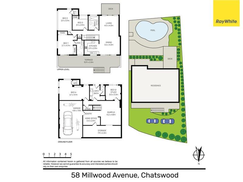 58 Millwood Avenue, Chatswood, NSW 2067 - floorplan