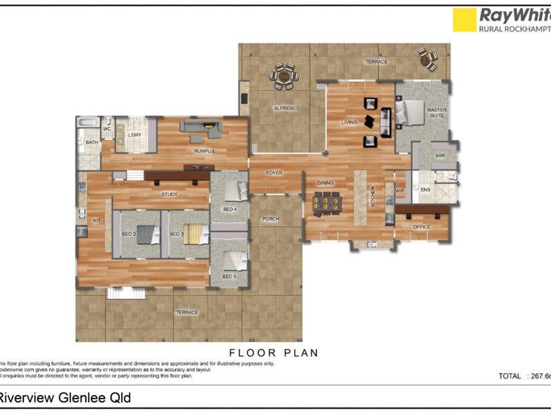 120 D Berrys Road, Glenlee, Qld 4711 - floorplan