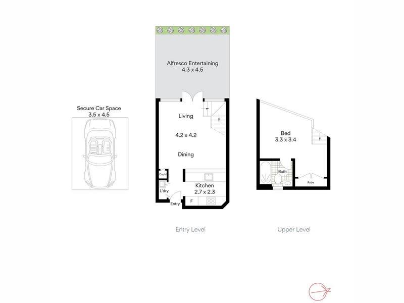 2/25 Mitchell Road, Mosman, NSW 2088 - floorplan