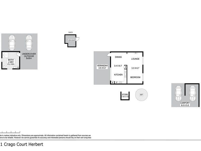 41 Crago Court, Herbert, NT 0836 - floorplan