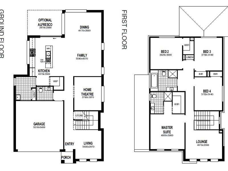 Lot 4590 Proposed Road (Elara), Marsden Park, NSW 2765 - floorplan