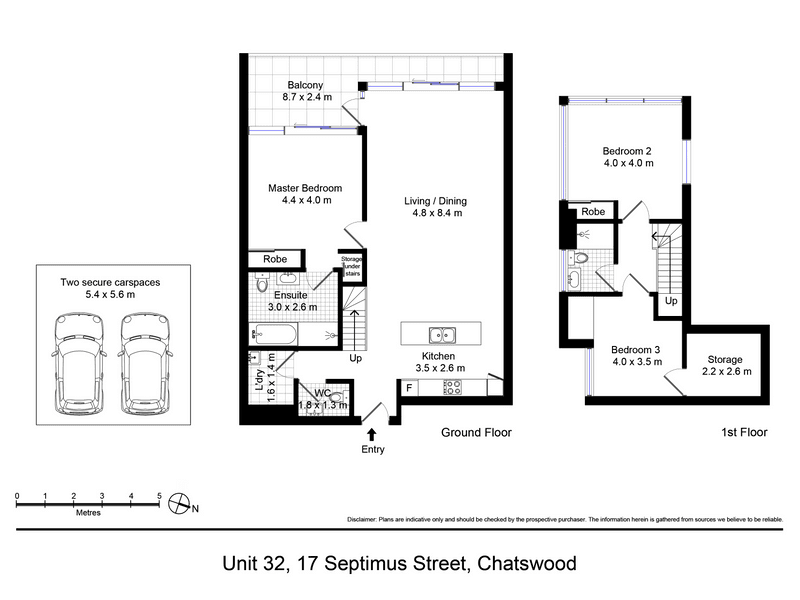 32/17 SEPTIMUS ST, Chatswood, NSW 2067 - floorplan