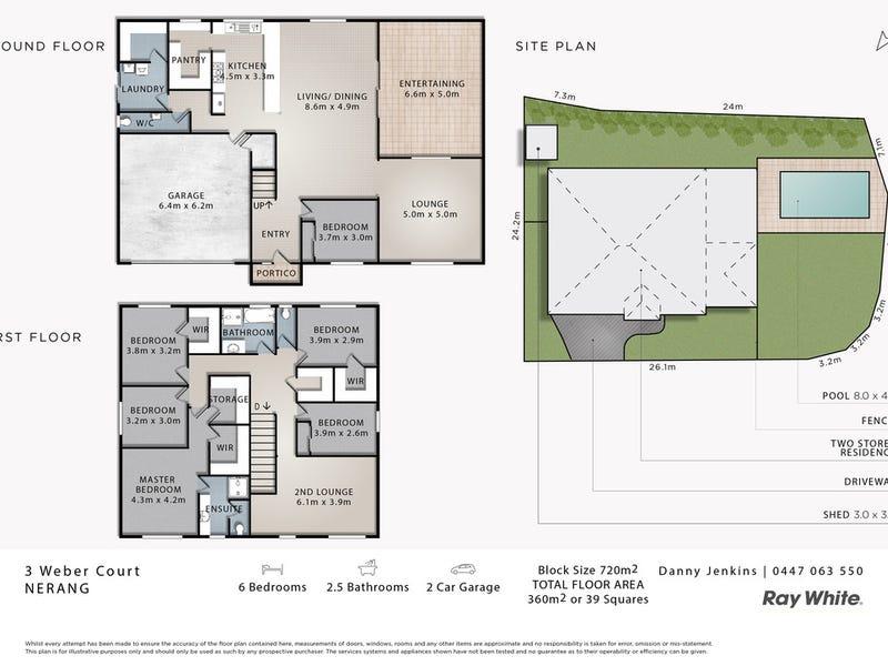 3 Weber Court, Nerang, Qld 4211 - floorplan