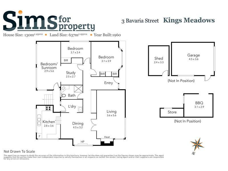 3 Bavaria Street, Kings Meadows, Tas 7249 - floorplan
