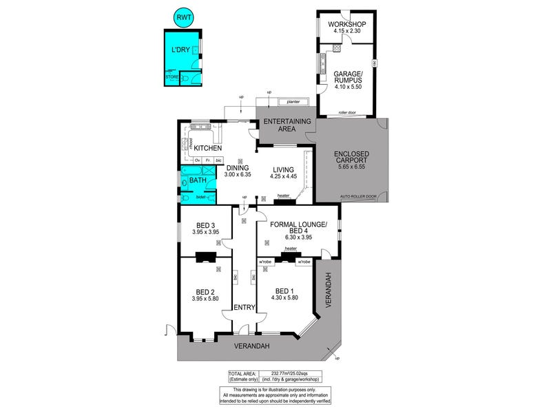 45A Day Terrace, West Croydon, SA 5008 - floorplan