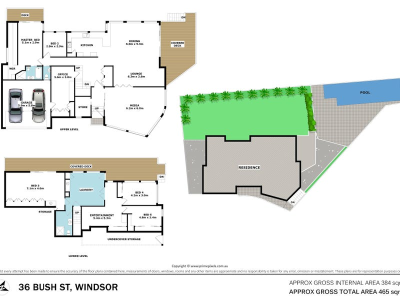 36 Bush Street, Windsor, Qld 4030 - floorplan