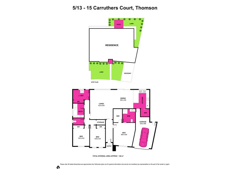 5/13-15 Carruthers Court, Thomson, Vic 3219 - floorplan