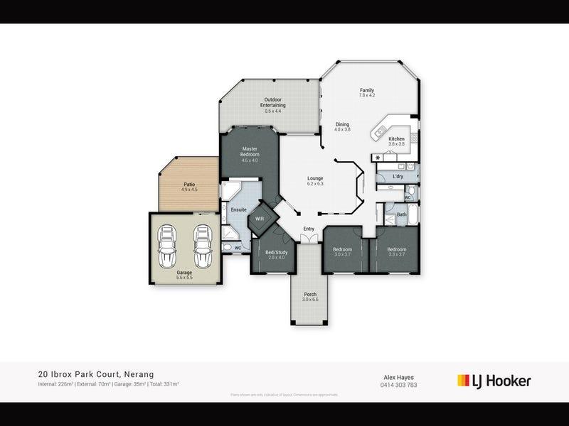 20 Ibrox Park Court, Nerang, Qld 4211 - floorplan