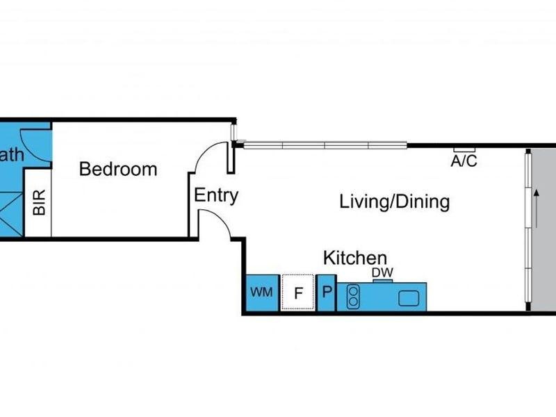 701/534 Flinders Street, Melbourne, Vic 3000 - floorplan