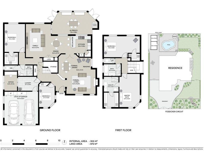 9 Fossicker Circuit, Springfield, Qld 4300 - floorplan